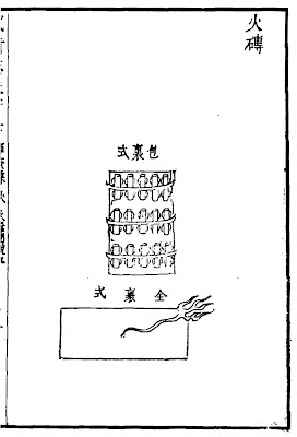 Ming Chinese Brick Grenade