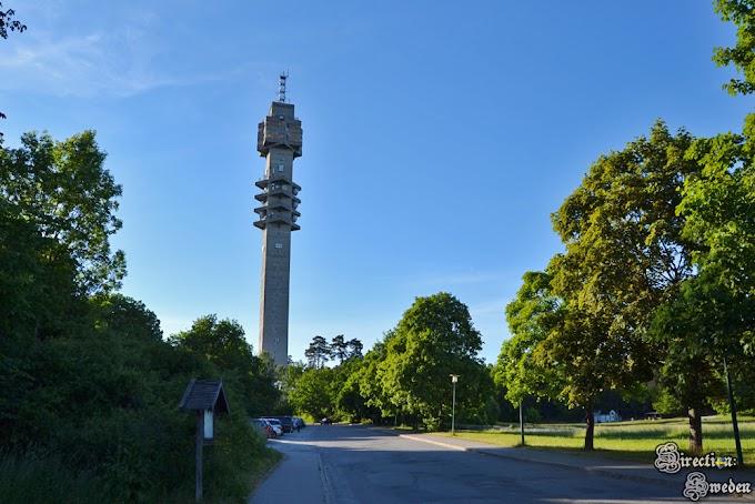 Na szczycie wieży Kaknäs
