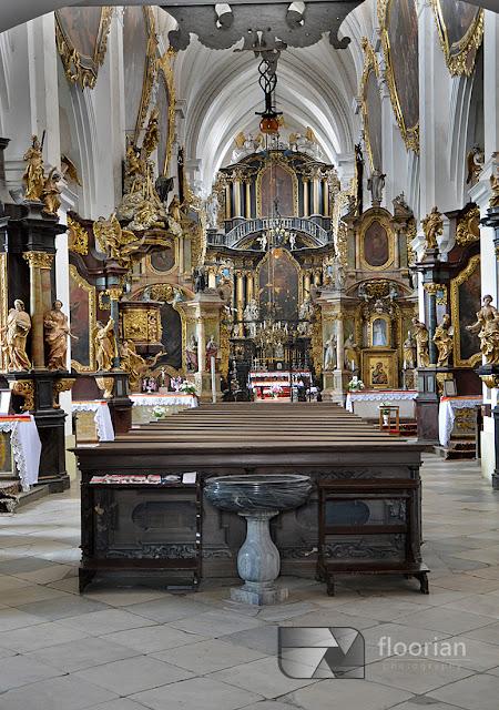 Historyczny Klasztor w Henrykowie niedaleko Ząbkowic Śląskich na Dolnym Śląsku