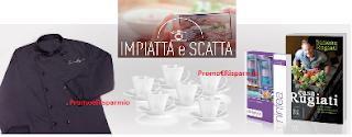 Logo Concorso ''Stile inconfondibile'': vinci gratis set Limoges, soggiorni e 100 kit Chef giacca e libro