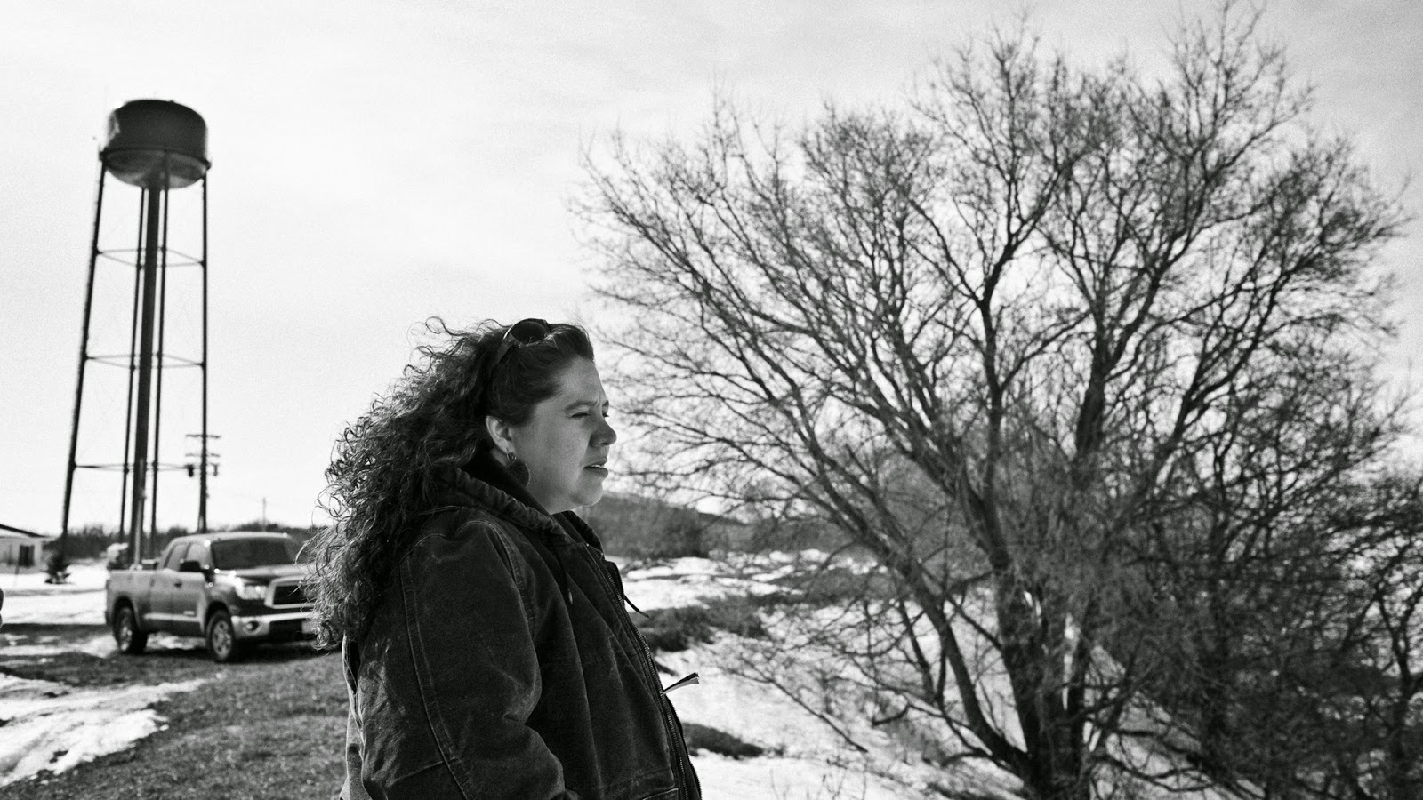 Cristine at Red Lake, outtake from Hearts on the Ground