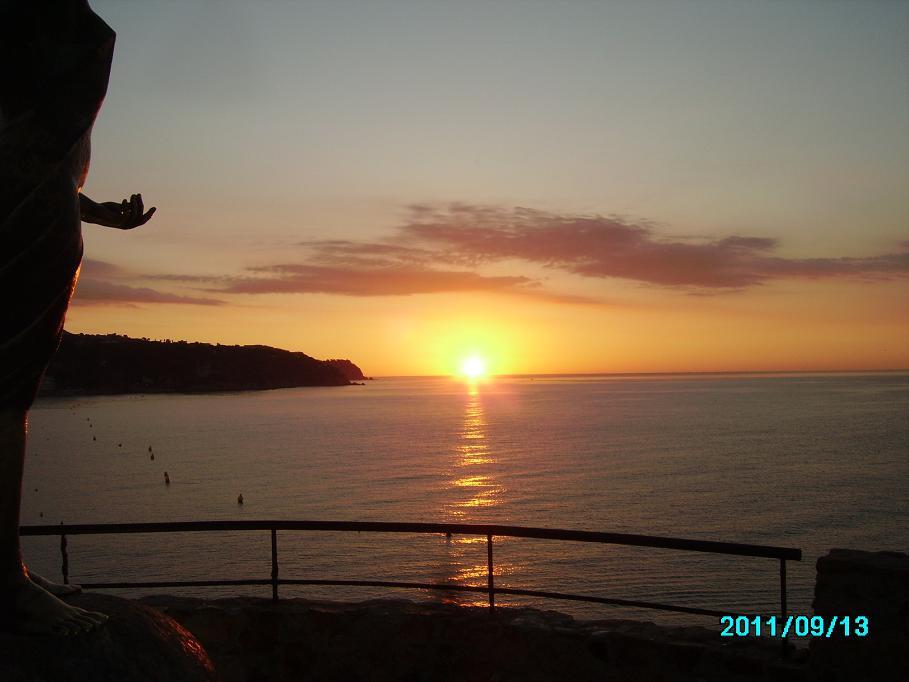 zachód słońca Lloret De mar