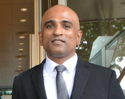 Singapore lawyer M Ravi