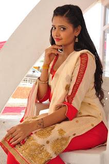 Actress Shreya Vyas Latest Stills in Salwar Kameez  0044