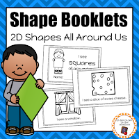https://www.teacherspayteachers.com/Product/2-D-Shape-Booklets-2947918
