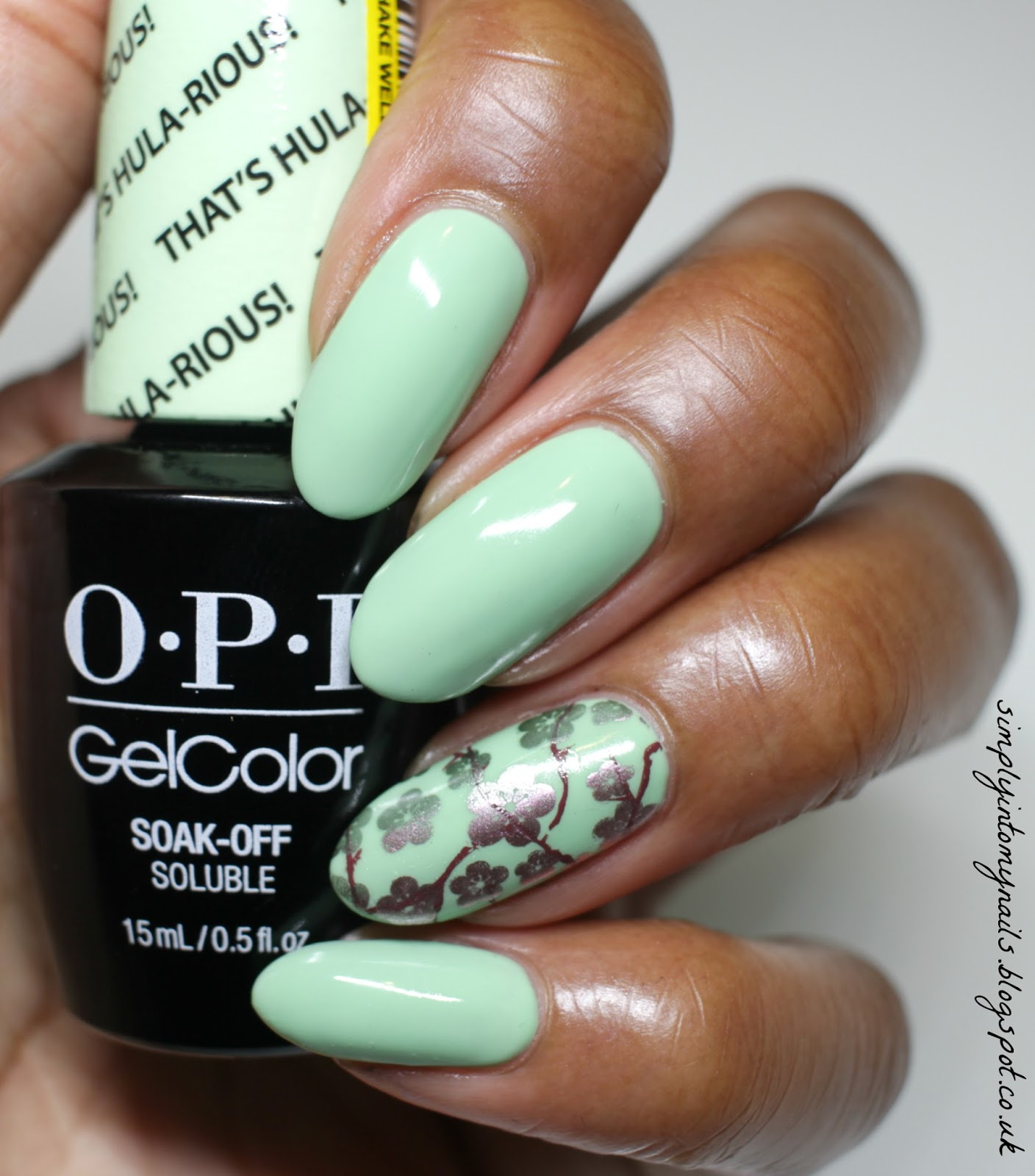 OPI GelColor ~ That\'s Hula-rious! | Simply Into My NAILS