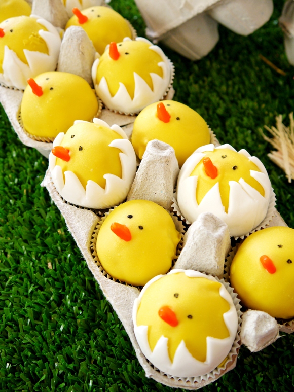 DIY Hatching Chicks Cake Pops Recipe - BirdsParty.com