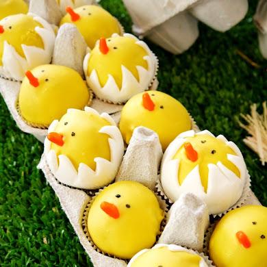 DIY Hatching Chicks Cake Pops Recipe