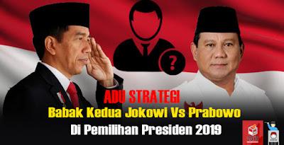 Peta Kekuatan Babak Kedua Jokowi Vs Prabowo Di Pilpres 2019