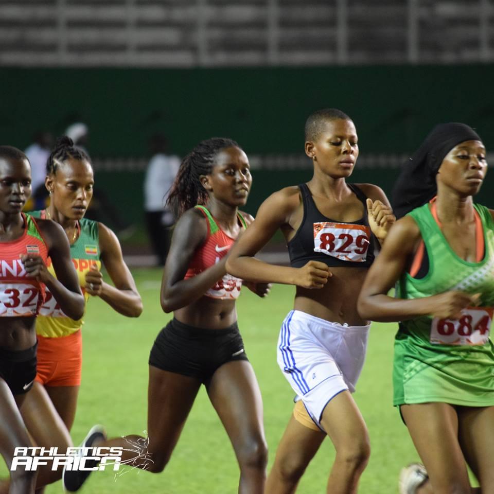 Track Winner: Days 1-5 CAA African U18 And U20