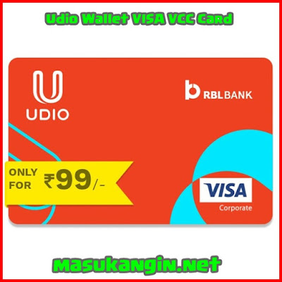 Udio Wallet VISA VCC Card