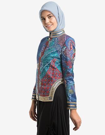 Model Baju Batik Wanita Muslimah Untuk Ke Kantor