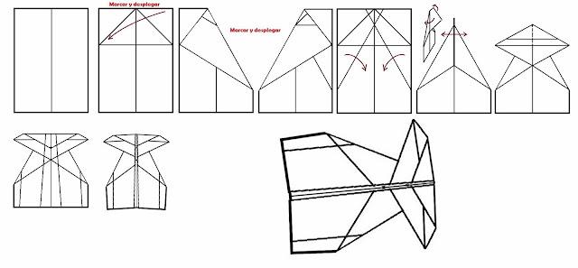 Avión de papel Wing 4
