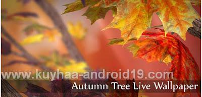 AUTUMN TREE LIVE WALLPAPER APK