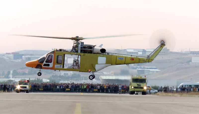 Turki menguji helikopter multiguna baru T625
