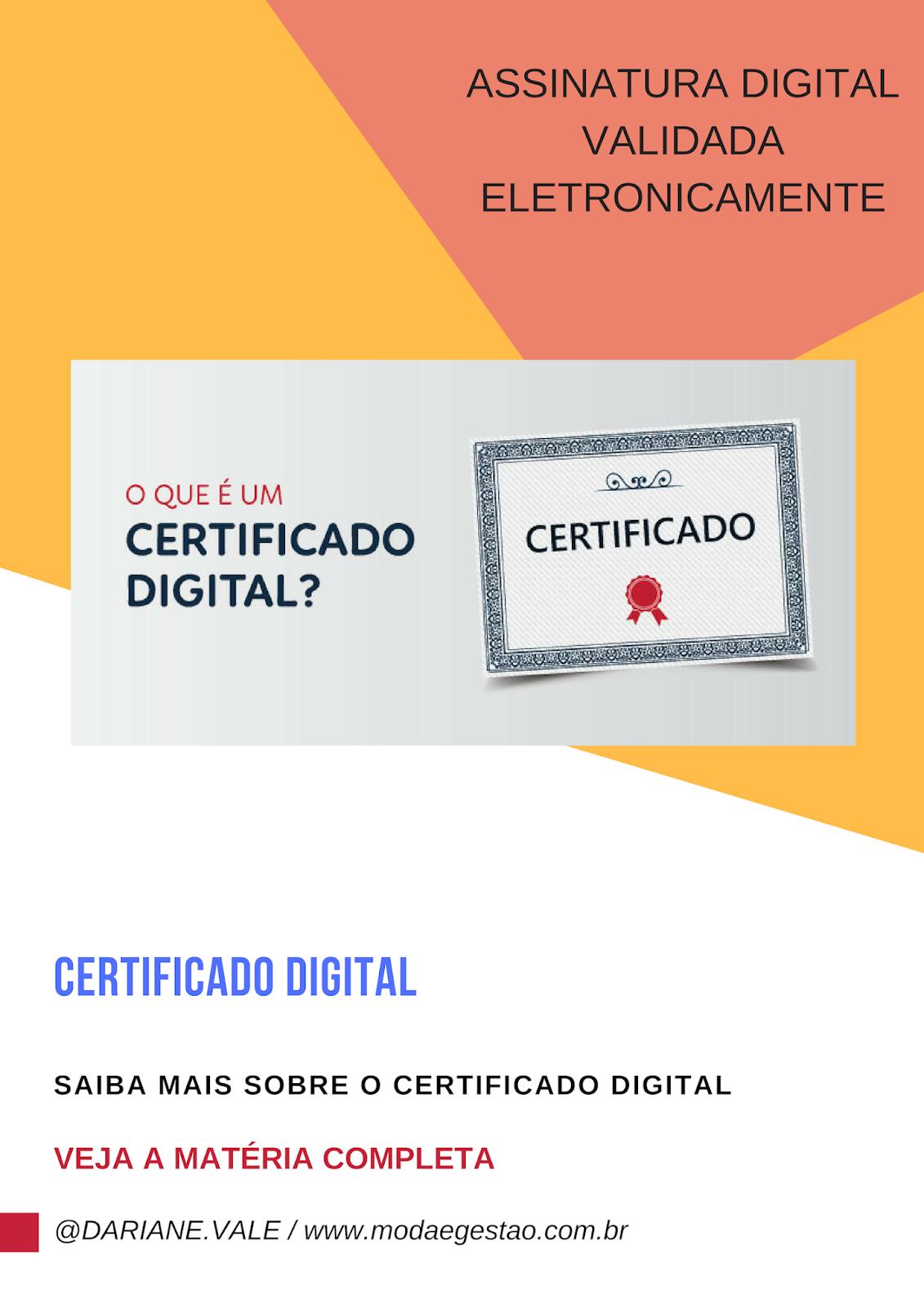 Certificação Digital: Um olhar para o futuro