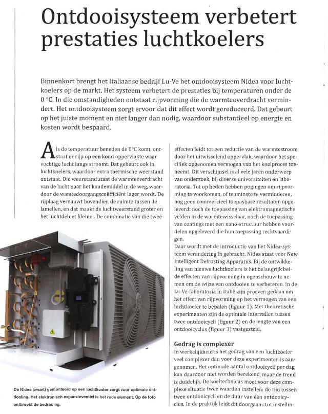 RCC - K&L  Ontdoisysteem verbetert prestaties luchtkoelers