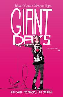 Giant Days tom 4: Przepraszam, że cię zawiodłam okładka