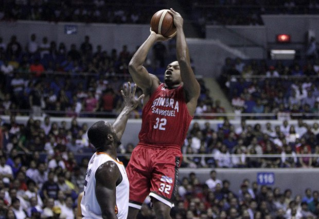 Ginebra outsmarts Meralco, now just a win away from the title