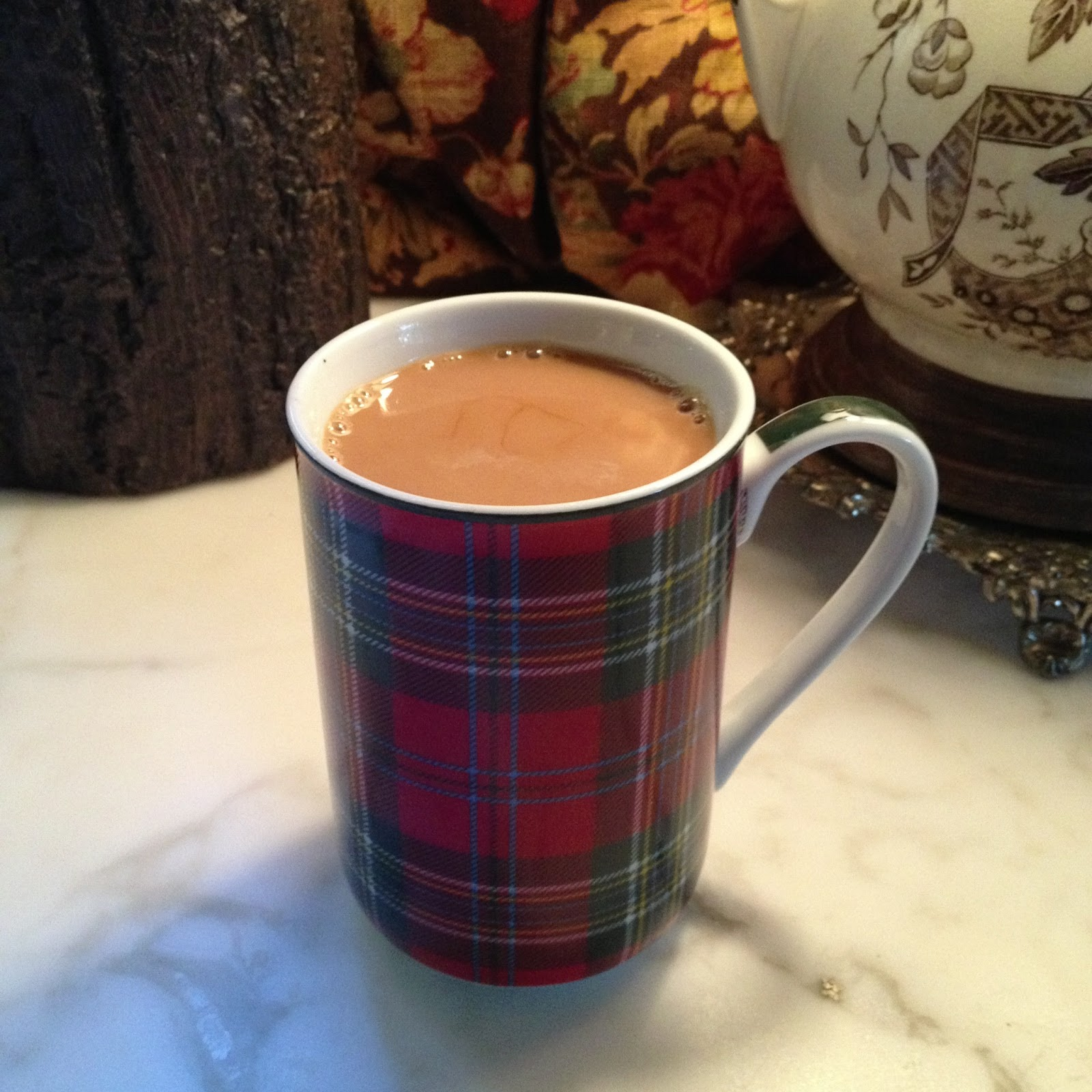 vignette design: The Perfect Cup