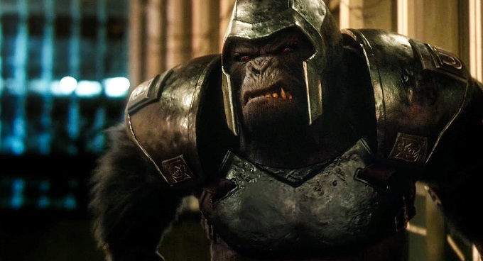 Grodd vuelve a Central City