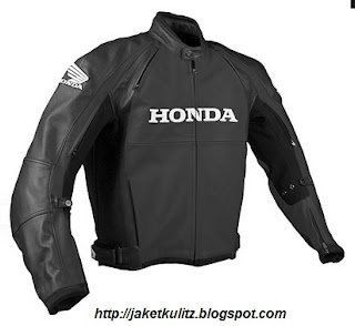 Gambar jaket kulit honda