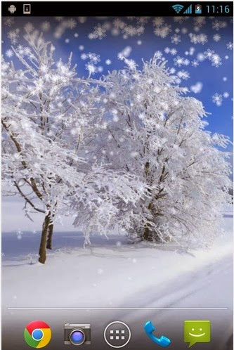 Winter Snow Live Wallpaper For Android Download App Free From PlayStore - Find Android Appz