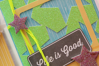 Paper Baker June Scrapbook Kit Gift Card by Juliana Michaels detail
