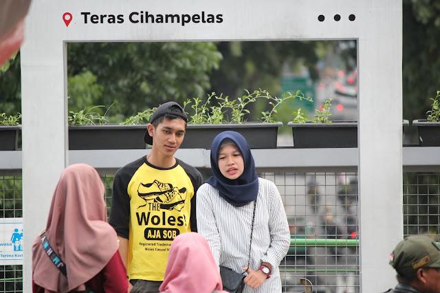 Jadi Baru Kebumen 2018 Tour To Bandung, Best Momen- foto di teras cihampelas bandung 1