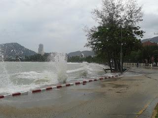 High tide in Phuket