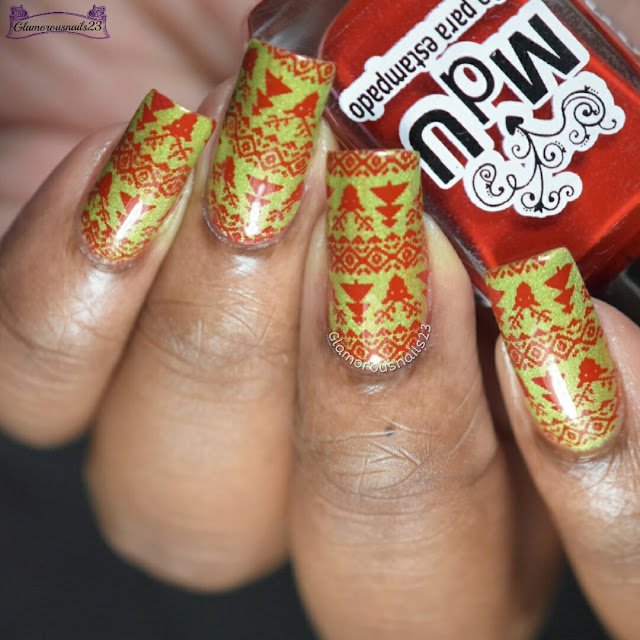 Winter Nail Art Challenge 2016 Day 15 - Ugly Sweater