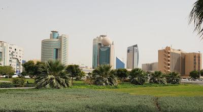 Dubai Creek Deira Skyline