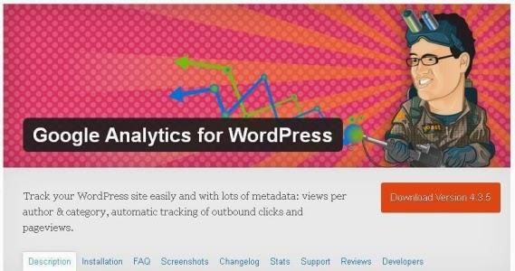 Google Analytic for WordPress