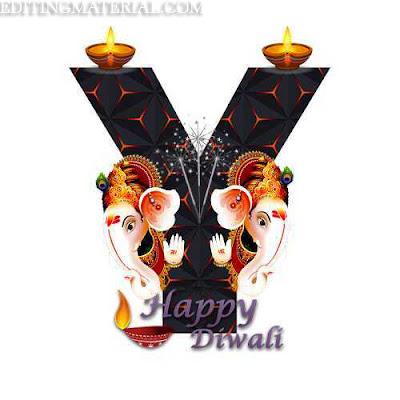 happy diwali Y aplhabet image