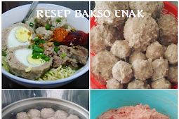 Resep dan cara membuat BAKSO daging Sapi isi TELUR ala ayuni