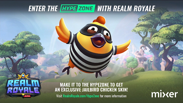 PC Gaming Show 2018 Realm Royale Jailbird Chicken Skin hypezone