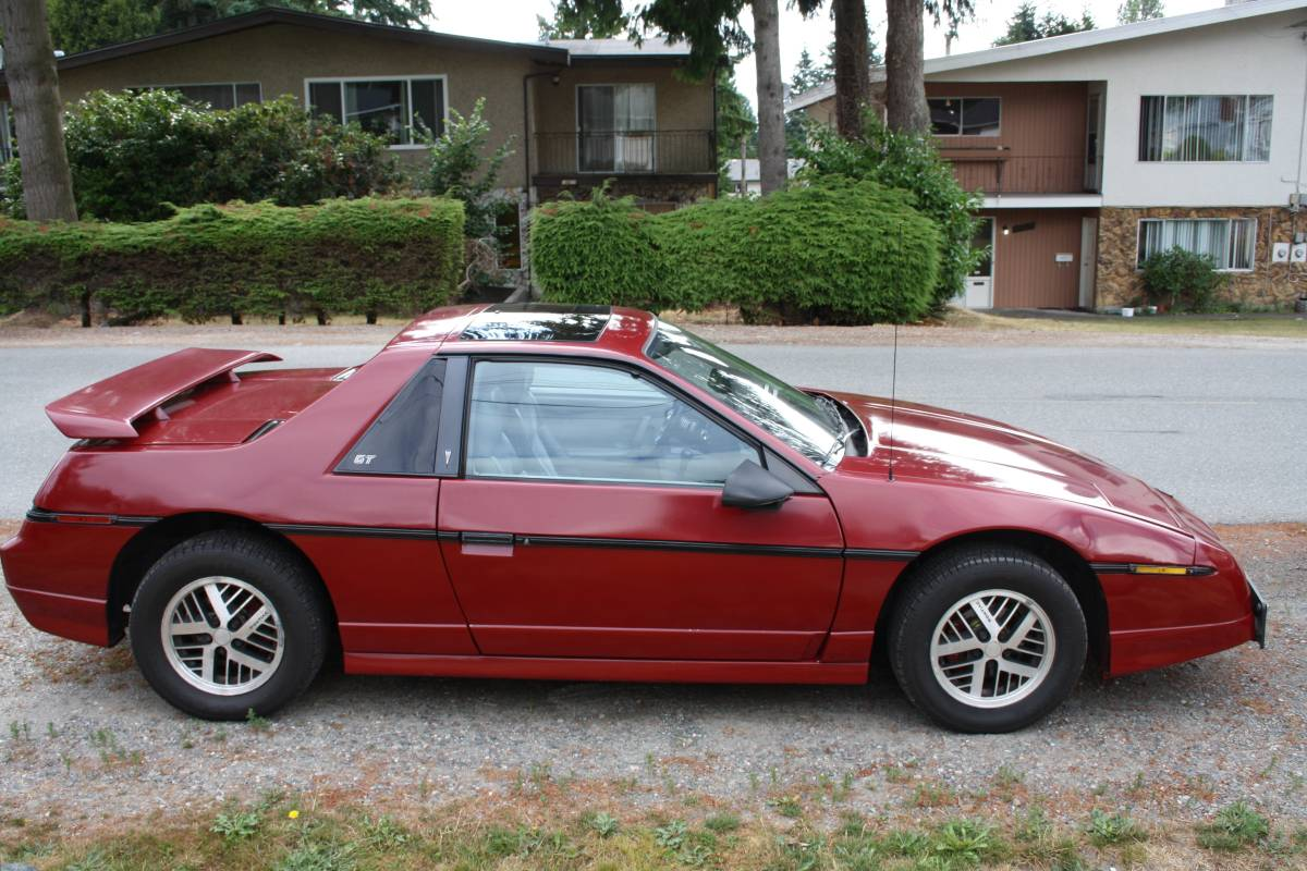 ... Was A Little 2 Seat Thing Called The Fiero. Find This 1985 Pontiac  Fiero GT V6 Offered For $3,500 CAD ($2678 USD) In Vancouver, BC Via  Craigslist.