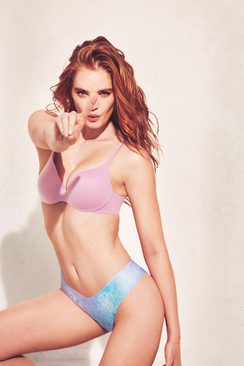 Alexina Graham fronts Victoria's Secret Incredible Bra campaign