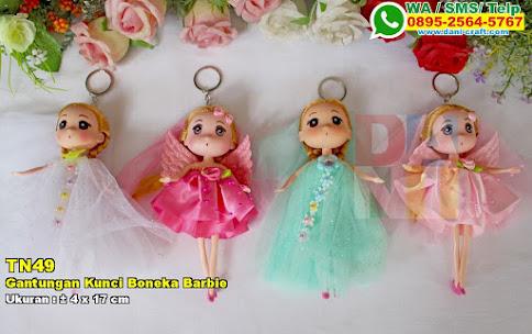 Gantungan Kunci Boneka Barbie