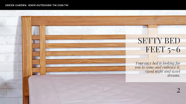 實木床架床頭板1