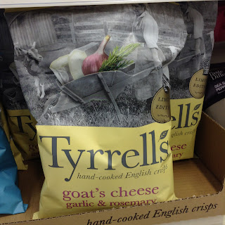Tyrrell's Goat's Cheese Garlic & Rosemary Limited Edition