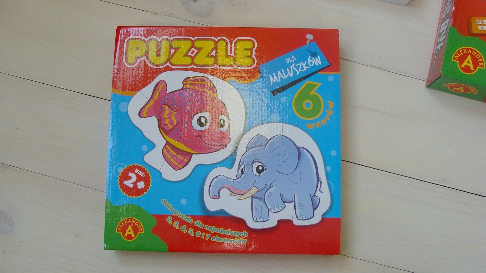 Gry dla całej rodziny, Alexander Toys, Puzzle, Gdybyś był, Powiem Ci co widzę