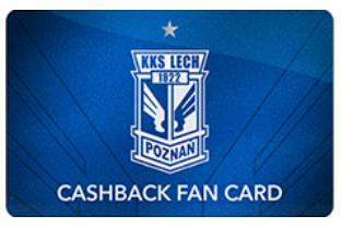 Cashback karta fotbalového klubu Lech Poznań