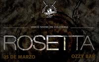 POS 3 Concierto de ROSETTA en Bogotá