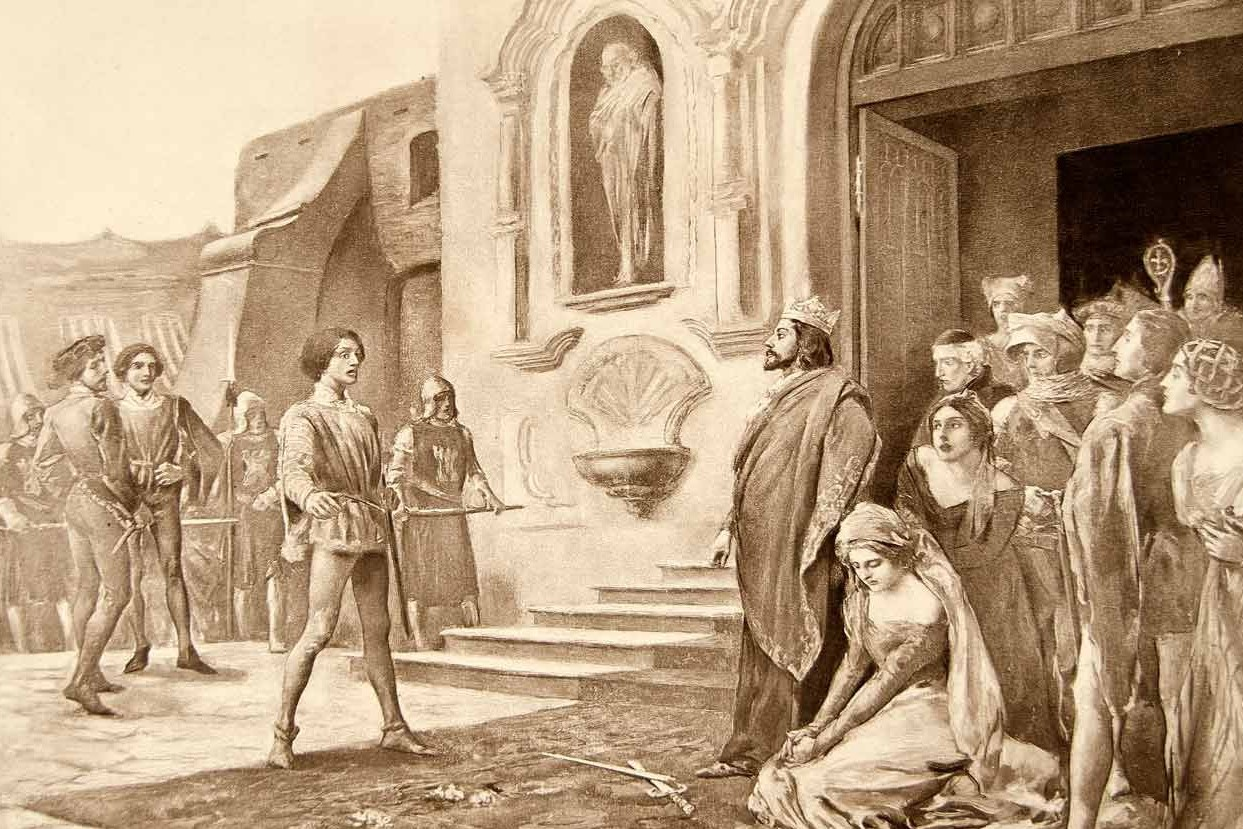 ARTS IN ACTION: Gaetano Donizetti's LA FAVORITE resurrected by Washington Concert Opera, 4 March 2016 [Image of a scene from LA FAVORITE by Lee Woodward Zeigler, © 1899]