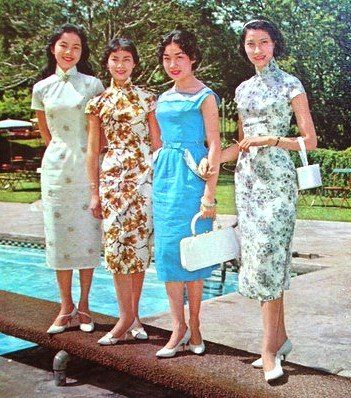 Flashback Summer: Intercultural Vintage - Questions on Qipao Cheongsam