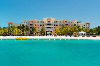 Blue Haven Resort, Providenciales, Turks and Caicos, as seen from the water