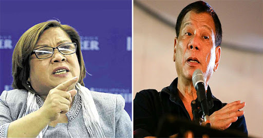 Senator De Lima accuses President Duterte behind the attack based on a credible source