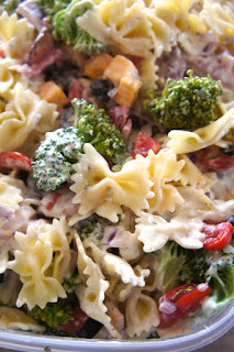 Ham and Cheese Ranch Pasta Salad: Savory Sweet and Satisfying