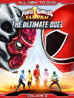 DVD Review - Power Rangers Samurai: The Ultimate Duel: Volume 5